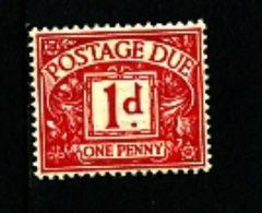 GREAT BRITAIN - 1937 POSTAGE DUES 1d  KGVI  MINT NH  SG D28 - Tasse