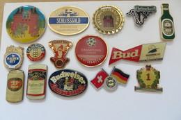 Lot De 15 Pin's, Bier, Biere, Birra, Beer - Beer
