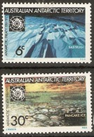 Australian Antarctic Territories  1971  SG 19-20 Antarctic Treaty Mounted Mint - Australian Antarctic Territory (AAT)