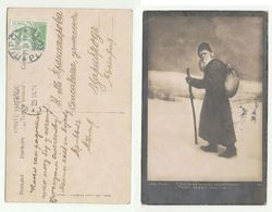 1921 PIROT To CARIBROD Serbia TOLSTOY POSTCARD (Tolstoy,  On Way To Infinity) Stamps Cover - Serbia