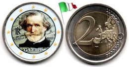 Italie - 2 Euro 2013 - (Giuseppe Verdi  - Colorée) - Italie