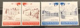 Slovenia, 2001, Mi: 369/72 (MNH) - Slovenia