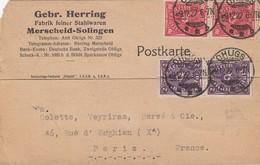 KARTE 9 12 22.  OHLIGS TO PARIS - Deutschland