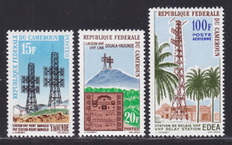 CAMEROUN N°  367 & 368, AERIENS N° 58 ** MNH Neufs Sans Charnière, TB (D7519) Liaison Hertzienne Douala-Yaoundé 1963 - Kamerun (1960-...)