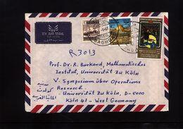 Iraq 1960 Interesting Airmail Letter - Iraq