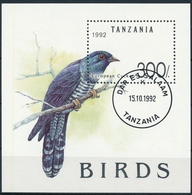 Bl. 190 Tansania Einwandfreie Erhaltung Mit ET-Stempel - Dar Es Salaam - Europäischer Kuckuck - Cuckoos & Turacos