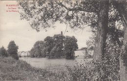 Cp , 54 , BLAINVILLE , Le Canal De La Filature - Other Municipalities
