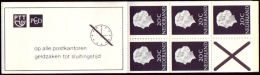 Postzegelboekje PB 6e Gewoon Papier MET TELBLOK Postfris/MNH/** - Heftchen Und Rollen