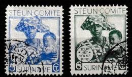 Suriname 1931 Steuncomité NVPH 148 En 149 - Suriname ... - 1975