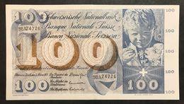 Svizzera 100 Francs Franken Franchi 1973 LOTTO 1971 - Svizzera