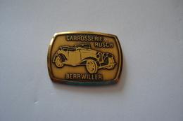 20180717-1917 ALSACE HAUT RHIN « CARROSSERIE RUSCH BERRWILLER » - Badges