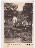 Calizzano-Sv-L'alluvione Del 1908-Rara E Triste Cartolina Di Quel Periodo-Viaggiata Il 27.09.1914-Originale Al 100% - Savona