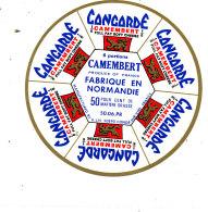S  202- ETIQUETTE DE FROMAGE-   CAMEMBERT   CONCORDE 6 PORTIONS  CONDE SUR VIRE (MANCHE - Kaas