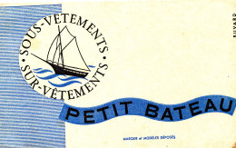 BU 1506/ BUVARD   SOUS VETEMENTS PETIT BATEAU - Textile & Clothing