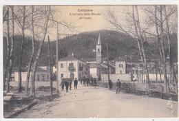 Calizzano-Sv-L'entrata Dalla Strada Di Finale-Viaggiata Il 04.05.1914-Originale Al 100% - Savona