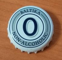 Beer Bottle Cap Capsule Kronkorken Baltika 0 Non-alcoholic Carlsberg Ukraine Brewery - Beer