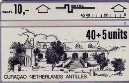 TARJETA TELEFONICA DE CURACAO (ANTILLAS HOLANDESAS) 406B. (001) - Antilles (Netherlands)