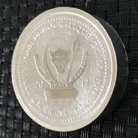 Congo - 50 Francs 2017 - 100 G Silver - (Water Buffalo) - Kongo (Dem. Republik 1998)