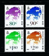 Hong Kong (Británico)  Nº Yvert  664A/D  En Nuevo - Hong Kong (...-1997)