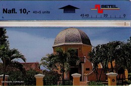 TARJETA TELEFONICA DE CURACAO (ANTILLAS HOLANDESAS) 703C, OCTAGON. (003) - Antilles (Netherlands)