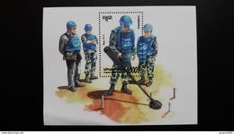 CAMBODGE CAMBODIA/ S/S Program United Nations 2016. - Cambogia