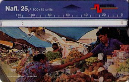 TARJETA TELEFONICA DE CURACAO (ANTILLAS HOLANDESAS) 509A, FLOATING MARKET. (006) - Antilles (Netherlands)