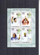 Football - Soccer World Cup 2006 - GUINEA BISSAU - Sheet MNH ** - Coppa Del Mondo