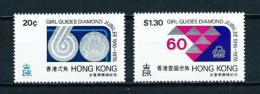 Hong Kong (Británico)  Nº Yvert  318/9  En Nuevo - Hong Kong (...-1997)