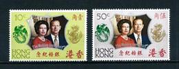 Hong Kong (Británico)  Nº Yvert  262/3  En Nuevo - Nuevos