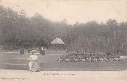 Cp , 62 , LE TOUQUET , Le Square - Le Touquet
