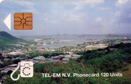 TARJETA TELEFONICA DE ST. MAARTEN (ANTILLAS HOLANDESAS) TEM-0006A, SIMPSONBAY LAGOON. (002) - Antilles (Netherlands)