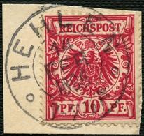 BRAUINSCHWEIG 1896, NACHVERWEND. K2 HEHLEN IDEAL AUF DR 47, BRIEFST. TOPP! - Brunswick