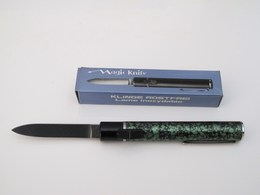 Couteau Vintage Automatique OTF En Forme De Stylo. - Knives/Swords
