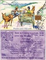 TARJETA TELEFONICA DE ST. MAARTEN (ANTILLAS HOLANDESAS) TEM-0013, MEETING ON THE ROAD. (003) - Antilles (Netherlands)