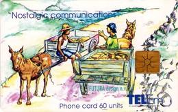 TARJETA TELEFONICA DE ST. MAARTEN (ANTILLAS HOLANDESAS) TEM-0011, MEETING ON THE ROAD. (004) - Antilles (Netherlands)