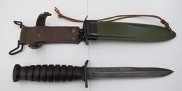 Couteau Avec Marquage USM3 SWI Et étui Avec Marquage USM8 - Knives/Swords