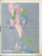 """Programme Elysée Palace Vichy Saison 1931 Music Hall Revue """"Pour Vous Plaire"""" Henri Busquet René Dary Jean Valmy - Programs"""