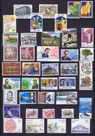 Iceland;  40 Used Stamps From 1980's To 2009; Includes High Values And 12 Complete Set. - Islande