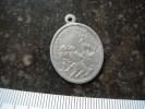 11Z - Médaille Religieuse Saint Hubert Saint Roch - Godsdienst & Esoterisme