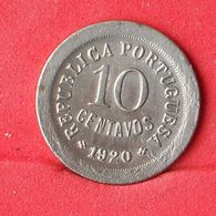PORTUGAL 10 CENTAVOS 1920 -    KM# 570 - (Nº23864) - Portugal