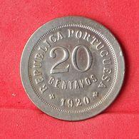 PORTUGAL 20 CENTAVOS 1920 -    KM# 571 - (Nº23865) - Portugal