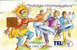 TARJETA TELEFONICA DE ST. MAARTEN (ANTILLAS HOLANDESAS) TEM-0012, CELEBRATION CARNIVAL. (006) - Antilles (Netherlands)