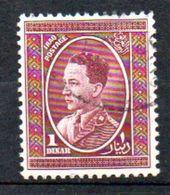 1934 King Ghasi I 1 Dinar Used Michel # 78 (i68) - Iraq
