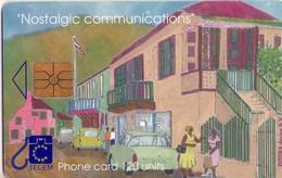 TARJETA TELEFONICA DE ST. MAARTEN (ANTILLAS HOLANDESAS) TEM-0008, TALKING ON THE STREET. (008) - Antilles (Netherlands)