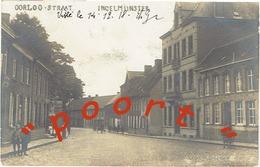 """INGELMUNSTER - Oorlog-straat  """"fotokaart"""" - December 1918 - Verstuurd - Ingelmunster"""