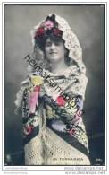 Espana - La Fornarina - Spanische Künstlerin - Foto-AK Handkoloriert Ca. 1910 - Artisti
