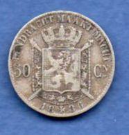 Belgique  -- 50 Centimes 1886    - Km #  27  -  état  TB+ - 1865-1909: Leopold II