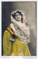 Espana - Leonor De Frutos - Spanische Künstlerin - Foto-AK Handkoloriert Ca. 1910 - Artisti