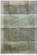 105 Neunkirchen 1953 - Provisorische Ausgabe Der Österreichischen Karte 1:50.000 - Herausgegeben Vom Bundesamt Für Eich- - Mapamundis