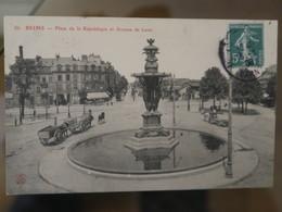 BZ - 51 - Place De La République  - ZAvenue De Laon  - Charettes - Reims